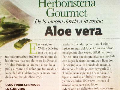 Usos e indicaciones del Aloe Vera